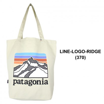 AUTHENTIC PATAGONIA LINE LOGO RIDGE MARKET TOTE