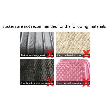 20pcs/pack Waterproof PVC Stickers Skateboard Suitcase Snowboard Phone Laptop Sticker
