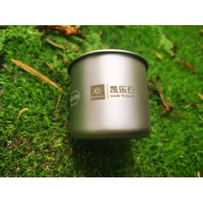 Limited Edition Kailas x Vibram Titanium Mug 375ml