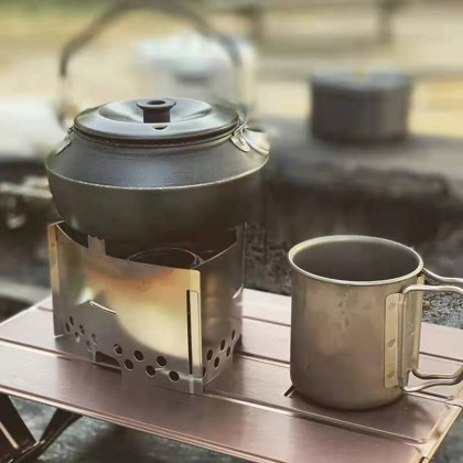 Camp Zoom Titanium Mug 420ml