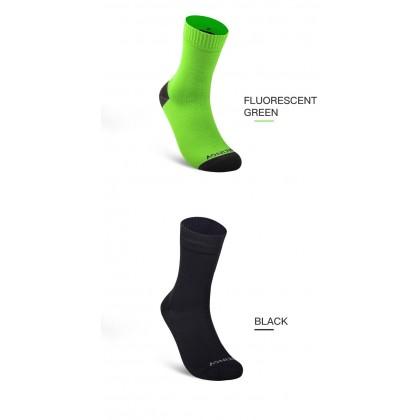 AONIJIE Waterproof Socks E4821 Outdoor Trail-Running Hiking Walking & Riding, Black