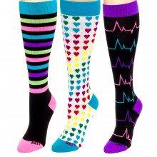 LISH Nurse Compression Socks for Women