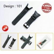 Suunto Ambit series replacement watch strap-Black