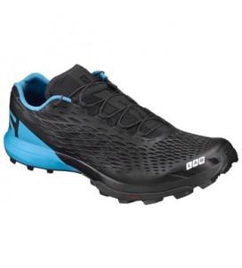 Salomon S-Lab XA Amphib Running Shoe - black/transcend blue/racing red