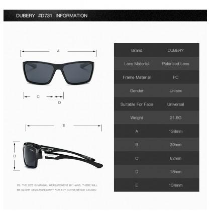 DUBERY DD167-05 Polarized Sunglasses Unisex