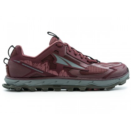 ALTRA WOMEN'S LONE PEAK 4.5 TRAIL RUNNING SHOE - DARK PORT
